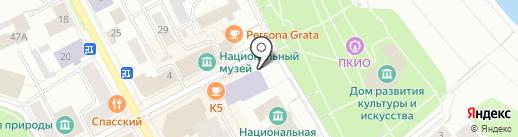 Республиканский центр дополнительного образования детей на карте Сыктывкара
