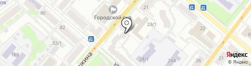 Адвокатский кабинет Торопова С.В. на карте Сыктывкара