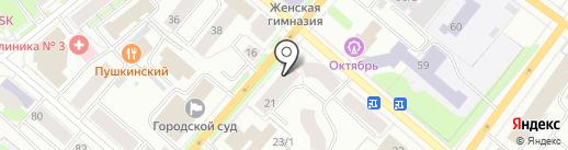 Ремонтная мастерская на карте Сыктывкара