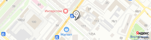 Мини-отель на карте Сыктывкара