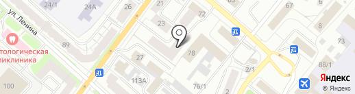 ИНТЕРКАРД на карте Сыктывкара