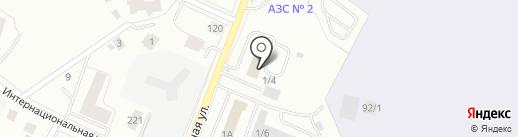 Институт аэронавигации на карте Сыктывкара