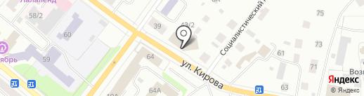 Служба Республики Коми строительного, жилищного и технического надзора (контроля) на карте Сыктывкара
