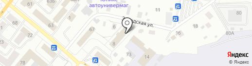 Авиатор на карте Сыктывкара