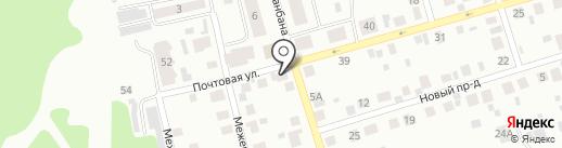 Магазин одежды и хозяйственных товаров на Почтовой, 43/1 на карте Сыктывкара