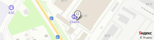 Спортивный бар на карте Сыктывкара