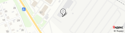 СЛДК на карте Сыктывкара