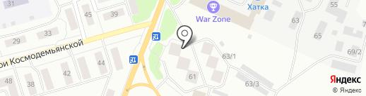 Адвокатский кабинет Негуляй А.М. на карте Сыктывкара