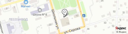 Центр спортивных мероприятий и пропаганды физической культуры и спорта на карте Сыктывкара