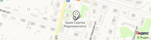 Храм преподобного Сергия Радонежского на карте Сыктывкара