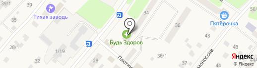 Уралочка на карте Сыктывкара