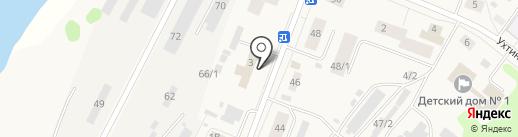 Раcчетный центр, ПАО на карте Сыктывкара