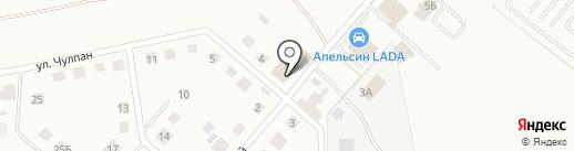 Автобан-НК на карте Нижнекамска