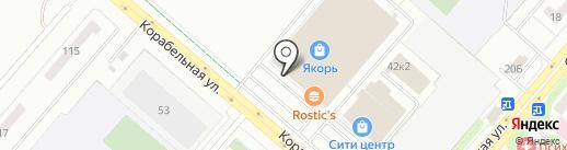 Фирма на карте Нижнекамска