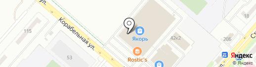 Верещагинский ТРИКОТАЖ на карте Нижнекамска