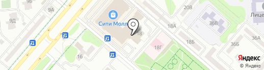 Реабилитация на карте Нижнекамска