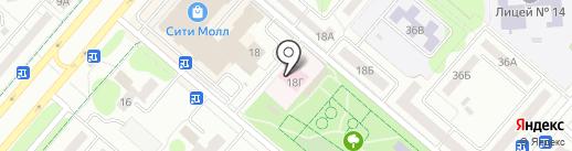 Центр доктора Бубновского на карте Нижнекамска