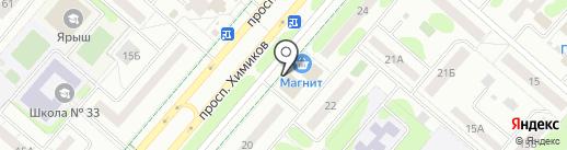 Comepay на карте Нижнекамска