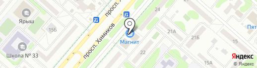1xbet на карте Нижнекамска