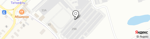 Автомобилист №28 на карте Нижнекамска