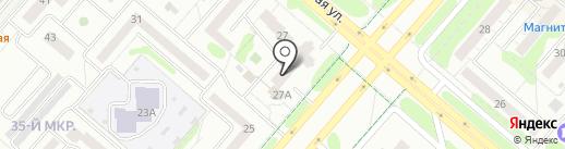 Радуга Звуков на карте Нижнекамска