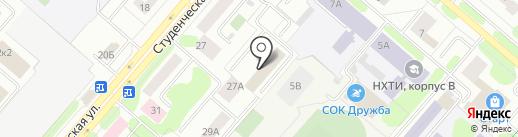 Отдел судебных приставов по Нижнекамскому району на карте Нижнекамска