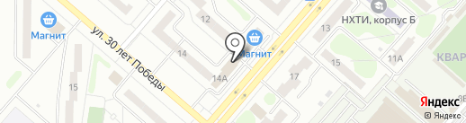 SMART service на карте Нижнекамска