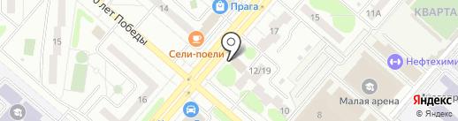 МТС на карте Нижнекамска