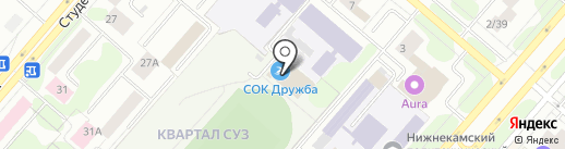 Магазин спортивных товаров на ул. 30 лет Победы на карте Нижнекамска