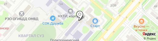 Кама-Автоматика на карте Нижнекамска