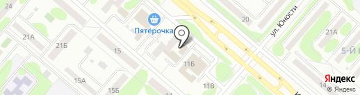 Вокзальная на карте Нижнекамска