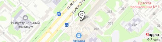Александр на карте Нижнекамска
