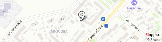 Dentluxe на карте Нижнекамска