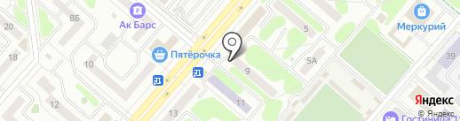 Общественная приемная партии Единая Россия на карте Нижнекамска