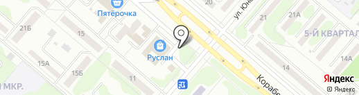 Ай-да курочка на карте Нижнекамска