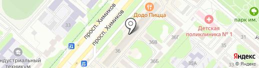 Бюрократ на карте Нижнекамска