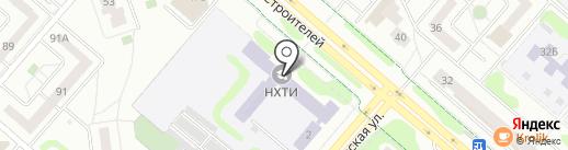НХТИ, Нижнекамский химико-технологический институт на карте Нижнекамска