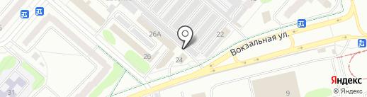 Автогазовик на карте Нижнекамска