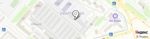 Садовод-НК на карте Нижнекамска