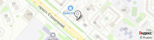 Банкомат, АКИБ АКИБАНК на карте Нижнекамска