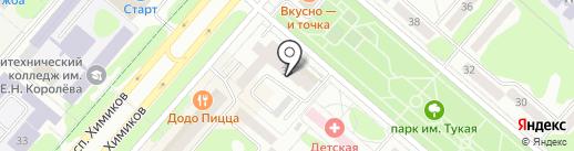 АБ Девон-кредит на карте Нижнекамска