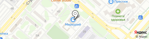 Банкомат, Банк ВТБ 24, ПАО на карте Нижнекамска