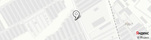 Автомобилист №21 на карте Нижнекамска