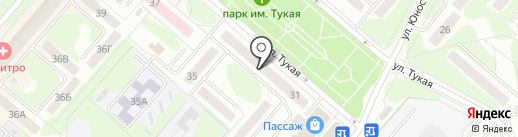 СБЕРБАНК РОССИИ на карте Нижнекамска