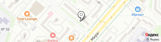 Достояние Поволжья, КПК на карте Нижнекамска