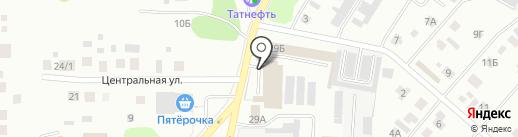 АМ-моторс на карте Нижнекамска