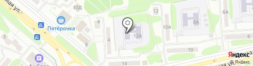 Детский сад №13, Чебурашка на карте Нижнекамска