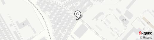 Автомобилист №17 на карте Нижнекамска