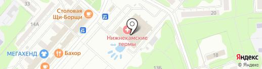 Дом культуры г. Нижнекамска на карте Нижнекамска