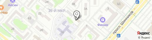 Юридический центр на карте Нижнекамска